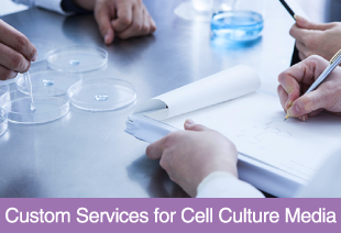 Custom Services for Cell Culture Media